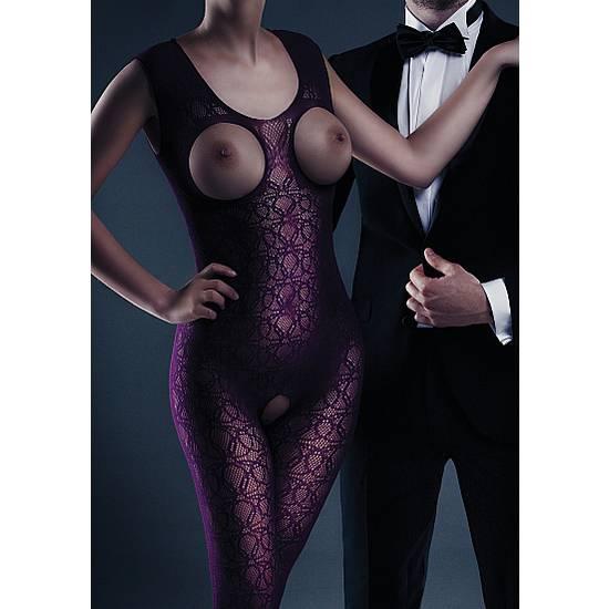 LE DESIR MALLA ZARAH MORADO - Lenceria Sexy Femenina Bodys - Sex Shop ARTICULOS EROTICOS
