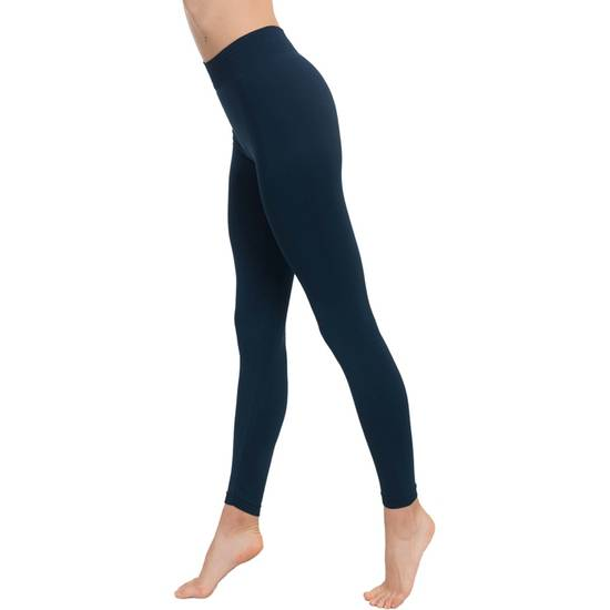 LEGGINGS PUSH UP COSMÉTICO-TEXTIL COLOR MARINO - Talla S | LENCERIA MALLAS | Sex Shop
