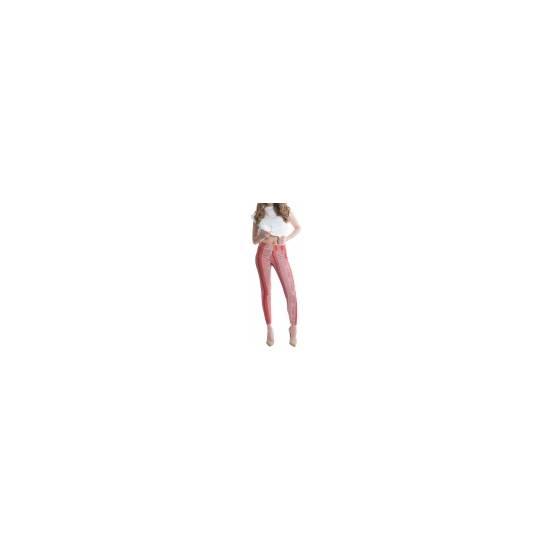 LEGGINS SHAPING DE CORTE ELÁSTICO - MARSALA - Talla M | LENCERIA MALLAS | Sex Shop