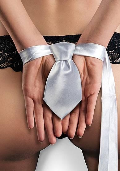 TIE ME UP CORBATA BONDAJE BLANCO - BDSM Bondage Cintas - Sex Shop ARTICULOS EROTICOS