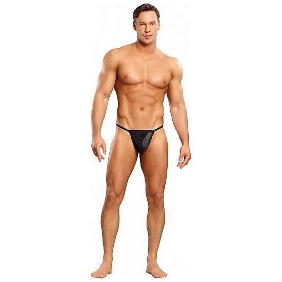 MALE POWER TANGA NEGRO - lenceria Sexy Masculina Tanga - Sex Shop ARTICULOS EROTICOS