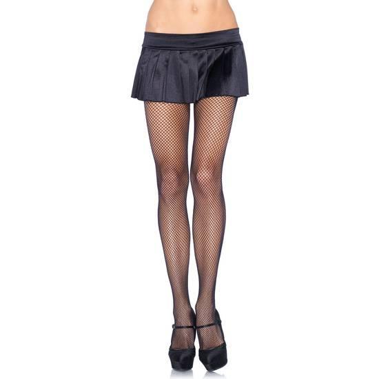 LEG AVENUE PANTYS DE REJILLA NEGRO - Lenceria Sexy Femenina Pantys - Sex Shop ARTICULOS EROTICOS