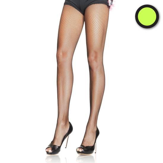 LEG AVENUE PANTIES DE REJILLA VERDE NEON - Lenceria Sexy Femenina Pantys - Sex Shop ARTICULOS EROTICOS