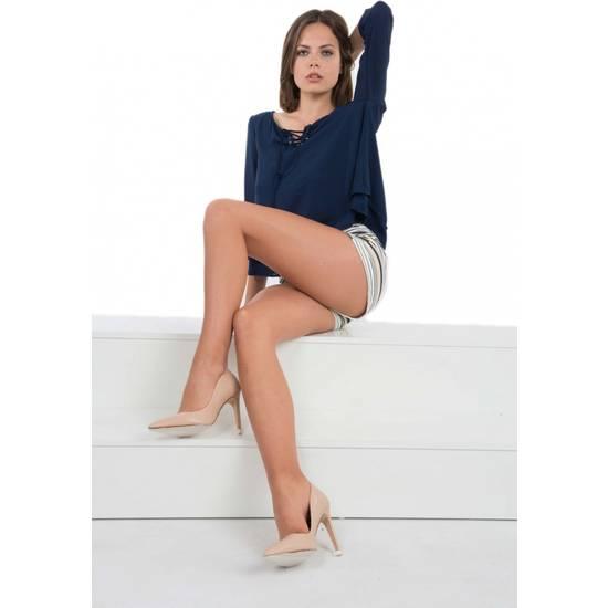 PANTY LICRA RELAX 30 DEN LOTE DE 2 COLOR BEIGE - Lenceria Sexy Femenina Pantys - Sex Shop ARTICULOS EROTICOS