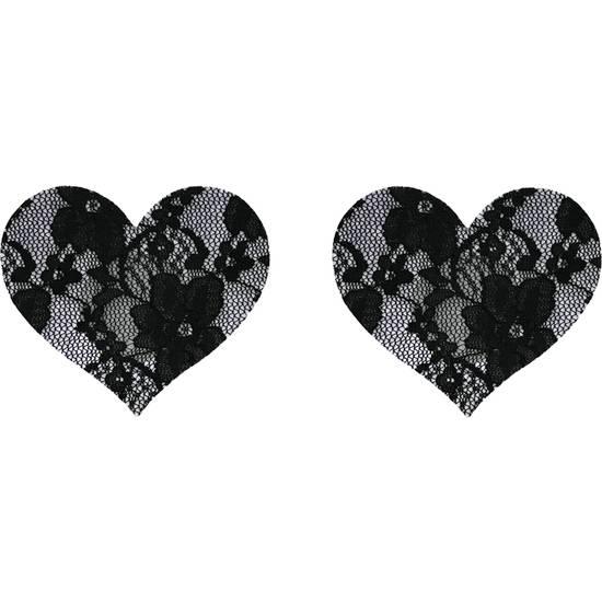 PEZONERAS BLACK FLOWER NEGRAS - Pezoneras BDSM Bondage - Sex Shop ARTICULOS EROTICOS