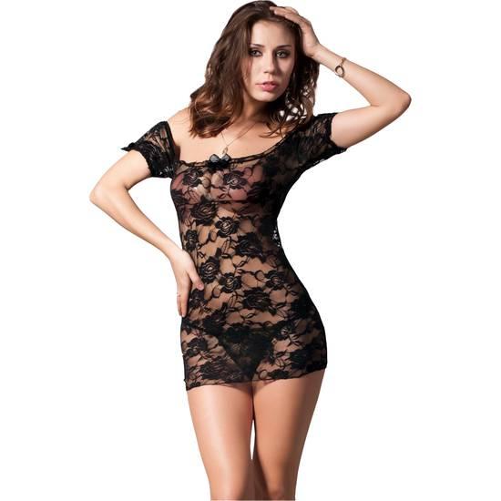 PICARDÍAS IRINA NEGRO - Lenceria Sexy Femenina Picardias - Sex Shop ARTICULOS EROTICOS