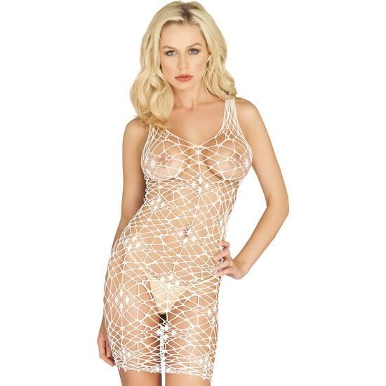 VESTIDO BORDEAUX DE RED BLANCO - Mujer Sexy Vestidos - Sex Shop ARTICULOS EROTICOS
