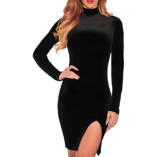 VESTIDO CHLOÉ NEGRO - Mujer Sexy Vestidos - Sex Shop ARTICULOS EROTICOS