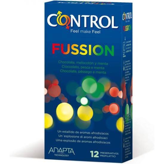 PRESERVATIVOS CONTROL FUSSION 12UDS - Cosmética Erótica Preservativos Aromáticos-Sex Shop ARTICULOS EROTICOS