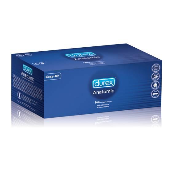 DUREX ANATOMIC 144 UDS - Cosmética Erótica Preservativos Varios - Sex Shop ARTICULOS EROTICOS