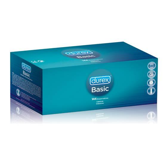 DUREX BASIC 144 UDS - Cosmética Erótica Preservativos Varios - Sex Shop ARTICULOS EROTICOS