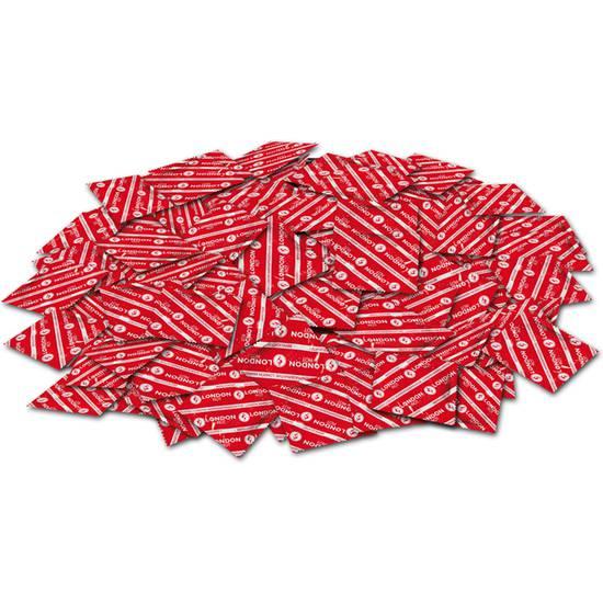 PRESERVATIVOS LONDON RED BOLSA 100 UDS - Cosmética Erótica Preservativos Varios - Sex Shop ARTICULOS EROTICOS