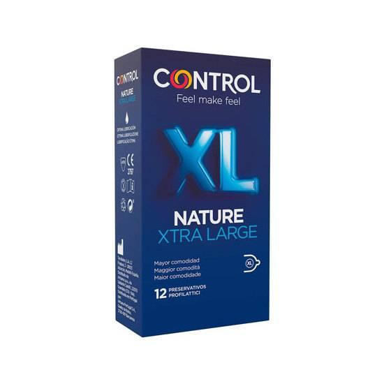 CONTROL PRESERVATIVOS NATURE XL 12UDS - Cosmética Erótica Preservativos Natural - Sex Shop ARTICULOS EROTICOS