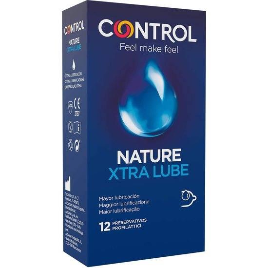 CONTROL PRESERVATIVOS XTRA LUBE 12 UDS - Cosmética Erótica Preservativos Natural - Sex Shop ARTICULOS EROTICOS