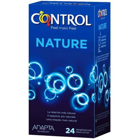 PRESERVATIVOS CONTROL NATURE 24 UDS - Cosmética Erótica Preservativos Natural - Sex Shop ARTICULOS EROTICOS