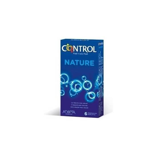 PRESERVATIVOS CONTROL NATURE 6UDS - Cosmética Erótica Preservativos Natural - Sex Shop ARTICULOS EROTICOS