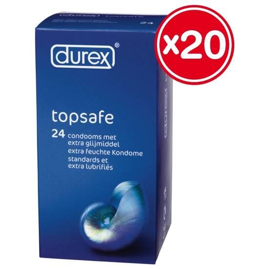 DUREX EXTRA SAFE 3 X 20 PCS | PRESERVATIVOS RESISTENTES | Sex Shop