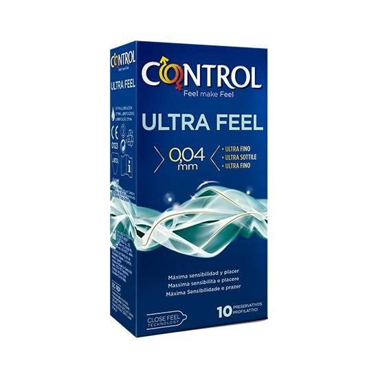 CONTROL PRESERVATIVOS FINISSIMO ULTRAFEEL 10 UDS - Cosmética Erótica Preservativos Sensitivos-Sex Shop ARTICULOS EROTICOS