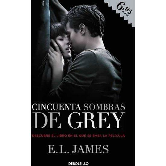 CINCUENTA SOMBRAS DE GREY (TRILOGÍA CINCUENTA SOMBRAS 1) (PORTADA PELÍCULA) - Libros Eróticos - Sex Shop ARTICULOS EROTICOS