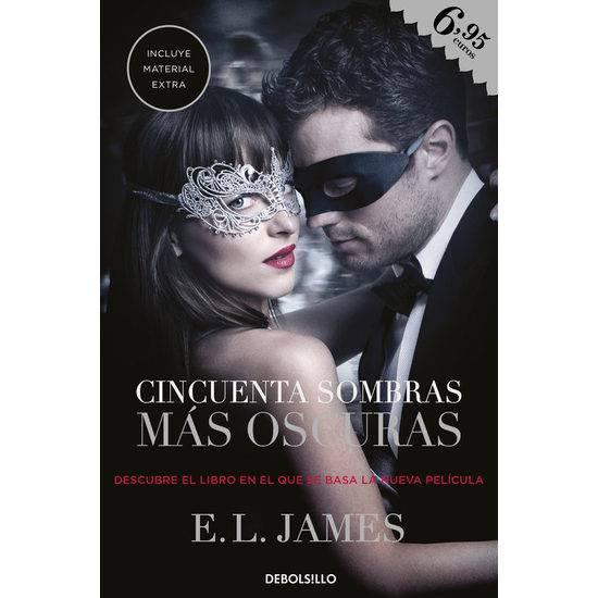 CINCUENTA SOMBRAS MÁS OSCURAS - Libros Eróticos - Sex Shop ARTICULOS EROTICOS