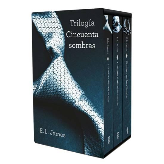 ESTUCHE TRILOGIA CINCUENTA SOMBRAS | VARIOS LIBROS | Sex Shop