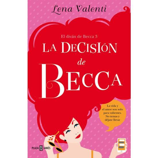 LA DECISION DE BECCA (EL DIVAN DE BECCA 3) - Libros Eróticos - Sex Shop ARTICULOS EROTICOS
