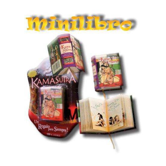MINI LIBRO KAMASUTRA | VARIOS LIBROS | Sex Shop