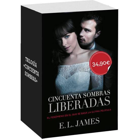 TRILOGÍA CINCUENTA SOMBRAS - Libros Eróticos - Sex Shop ARTICULOS EROTICOS