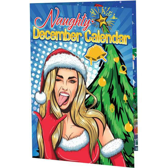 NAUGHTY DECEMBER CALENDARIO DE ADVIENTO - Juegos en Grupo - Sex Shop ARTICULOS EROTICOS