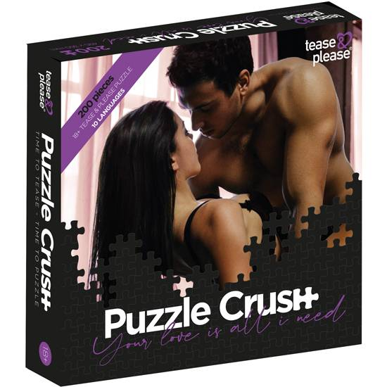 PUZZLE CRUSH YOUR LOVE IS ALL I NEED (200 PC) - Juegos en Grupo - Sex Shop ARTICULOS EROTICOS