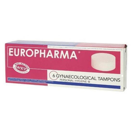 EUROPHARMA TAMPONES (6 Unid) - Cuidado Íntimo Varios - Sex Shop ARTICULOS EROTICOS